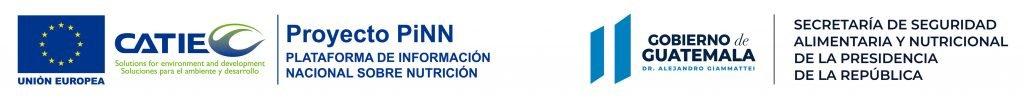 Logos Proyecto PiNN, Secretaría de Seguridad Alimentaria y Nutricional de la Presidencia de la República